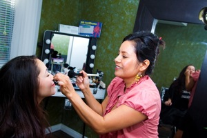 Alba's makeup studio, makeup artist