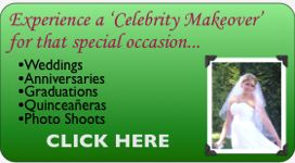 wedding makeup, wedding makeover, quinceanera makeup, makeup artist, celebrity makeover